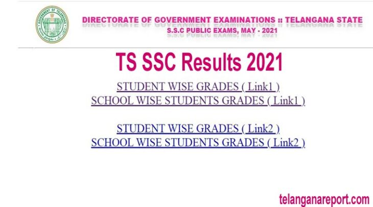 TS SSC Results 2021